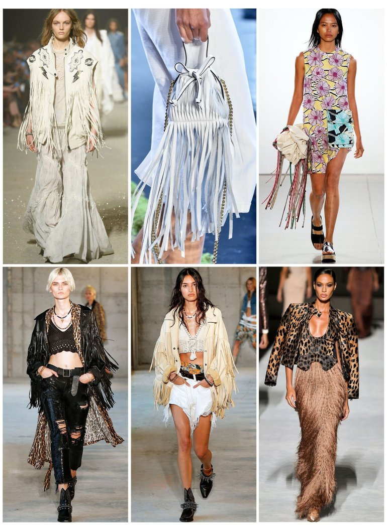2019 top fashion trends fringing